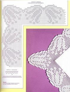 Easiest Crochet Frills Border Ever! Filet Crochet, Crochet Lace Edging, Crochet Hook Set, Crochet Borders, Crochet Doilies, Crochet Patterns, Crochet Tools, Learn To Crochet, Crochet Tablecloth