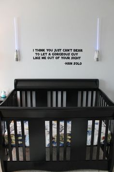 star wars baby room - pretty cool @Jason Stocks-Young Johnson