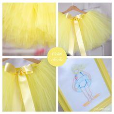 yellow tutu dress Yellow Tutu, Tulle, Skirts, Dresses, Fashion, Vestidos, Moda, La Mode, Skirt