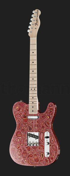 Fender 1968 Paisley Telecaster