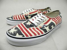 "Vans Authentic ""Van Doren"" - Retro Flag 