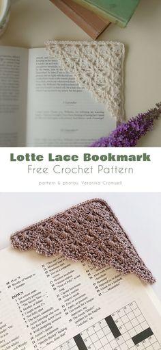 Crochet Bookmark Pattern, Crochet Bookmarks, Crochet Books, Crochet Yarn, Free Crochet, Free Lace Crochet Patterns, Diy Crochet Gifts, Crochet Lace Edging, Crochet Ideas