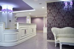 Friendly Dental Office with Baroque Design Influences in Bucharest - http://freshome.com/2011/01/21/friendly-dental-office-with-baroque-design-influences-in-bucharest/