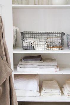 good clean linen closet