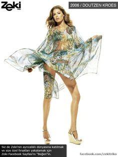 Doutzen Kroes was the model of Zeki Triko in 2006. #bikini #swimwears #fashion