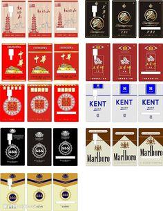 vintage cigarette label evolution Cigarette Brands, Cigarette Case, Barbie Dolls Diy, Diy Doll, Brand Packaging, Packaging Design, Compulsive Hoarding, Tap Room, Advertising Poster