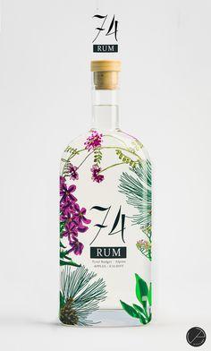 Premium Rum design | 99designs