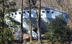 Curious Places: Spaceship House (Chattanooga/ Tennessee)