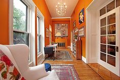 Life is hard when you have a sunroom that opens up to a garden. – The Best of Lena Dunham's House Hunting Expeditions