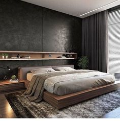 Beautiful Master Bedrooms with Modern Interior Decor - Gazzed - Designer bedroom design. Beautiful Master Bedrooms with Modern Interior Decor The Effective Picture - Modern Bedroom Design, Master Bedroom Design, Modern Interior Design, Master Bedrooms, Modern Mens Bedroom, Modern Bedroom Furniture, Bedrooms For Men, Masculine Master Bedroom, Furniture Ideas