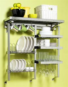 36 in. Dinnerware Complete Kitchen Rack         I love this and need it in my kitchen, but not $774 worth.