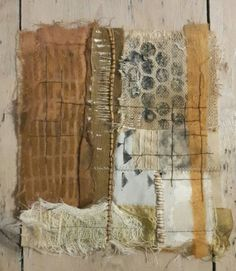 Julia Wright patchwork, print and embroidery