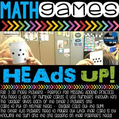 Math games are such a GREAT way to increase engagement while providing your kiddos with endless differentiated math fact and skill practice in your classroom! I LOVE LOVE LOVE LOVE LOVE teaching math games in my classroom. Here's why... 1. They are FUN!! 2. The kids LOVE them. 3. They are an...