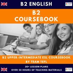 B2 Upper-Intermediate English Complete Coursebook ESL / EFL 50hrs by TEAM TEFL Grammar Lesson Plans, Teacher Lesson Plans, Esl Lessons, Grammar Lessons, Private Teacher, Comprehension Exercises, Up Teacher, Confusing Words, Clever Kids