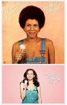 Maya Rudolph in a sweet tribute to her mama, Minnie Riperton (via the Style Sample)