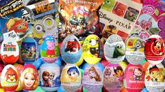 140 #Surprise #Eggs and #blindbags #DORA THE EXPLORER #Disney #Frozen #MICKEY MOUSE My Little Pony #Kinder