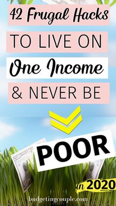 Find out how to THRIVE while living on one income: the ultimate money saving guide for single income families in These frugal living tips and money saving life hacks are the key to living frugal Money Saving Mom, Best Money Saving Tips, Money Tips, Money Hacks, Frugal Living Tips, Frugal Tips, Budgeting Finances, Budgeting Tips, Financial Tips