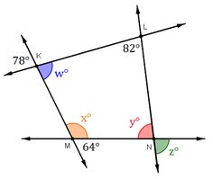 The Missing Angle Quadrilaterals Worksheets Math And Math Middle School