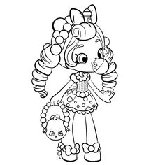 Print exclusive shopkins colouring free coloring pages