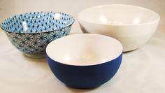 Vintage Bennington Pottery Bowls and Japanese Simple Geometric.