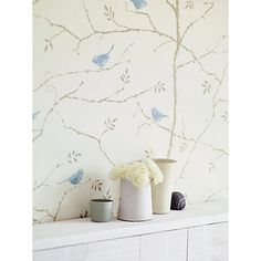 Buy Sanderson Dawn Chorus Paste the Wall Wallpaper Online at johnlewis.com