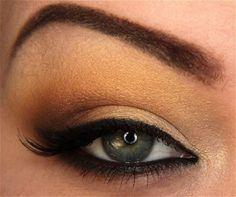 Hot Summer Nights eye-make up