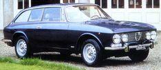 Alfa RoméoGiulia SprintShooting Brake.