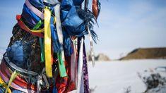 Ile d'Olkhon : marcher sur le lac Baïkal gelé ! #travel #voyage #baikal #lac #russie #siberie #hiver