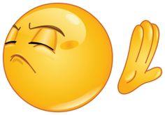 emoticon making deny sign sticker