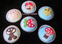 Cupcakes Mario Bros de Nintendo