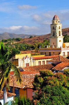 Great View of the colonial city of Trinidad, Cuba | 16 Reasons why Cuba is so Loved by Tourists although is still under Communist Regime