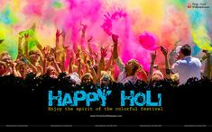 Creative Holi Wallpapers, Photos & Images Free Download
