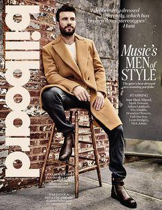 Billboard Magazine Music's Men of Style featuring Sam Hunt, Wiz Khalifa, Adam Lambert & Miguel