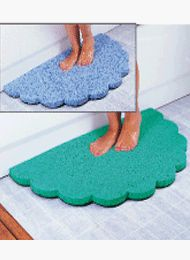 $19.99 Non-Slip Bath Mats - Blue Bath Mat  From Carol Wright Gifts   Get it here: http://astore.amazon.com/ffiilliipp-20/detail/B003BVMINM/180-9213149-5947358