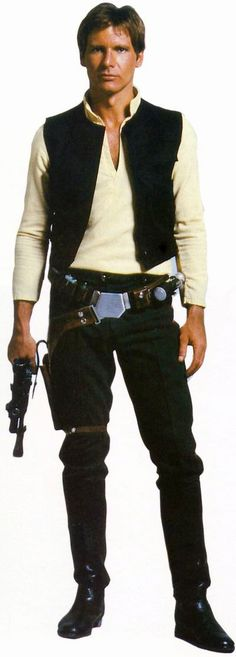 Han Solo. The epitome of roguish style and swashbuckling debonair. Yep, I'm in love.