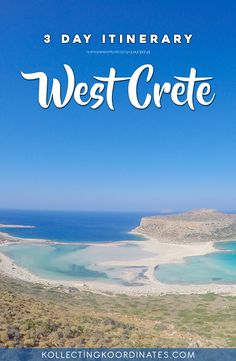 3-day itinerary to West Crete
