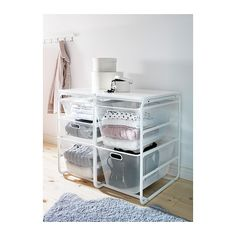 ALGOT Stel/2 trådkurve/topplade  - IKEA