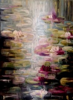 Water Lily Painting by Kim Johnston | Prairie Perch