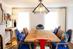 Eclectic Dining Room photo by Chango & Co.
