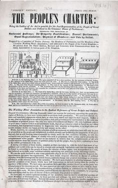 People's Charter, 1838