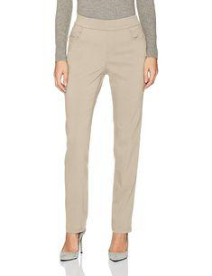 1a3c8802b Erika Women's Joey Twill Pull-on Pant at Amazon Women's Clothing store:  Pull On PantsErikaKhaki PantsKhaki ShortsKhaki Pants Outfit
