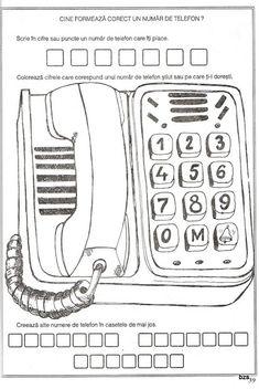 57 atividades de matemática para sala de aula - Como Fazer Office Phone, Landline Phone, Kindergarten, Math Activities, Diy Home, Computer File, Picasa, Math Resources, Kindergartens