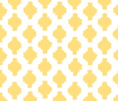 Beyond the Sea: Ikat Sun fabric by threeyellowplums on Spoonflower - custom fabric