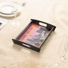 Downtown Los Angeles - Customizable Image Food Trays
