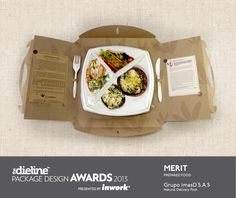 The Dieline #Packaging #Design Awards 2013: Prepared Food, Merit - Natural Delivery Packcarry case PD