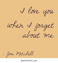 joni mitchell quotes - Google Search