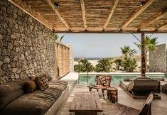 Kos' new hotel is Casa Cook - Elle Decor Italia Kos, Outdoor Rooms, Outdoor Living, Outdoor Decor, Patio Design, Exterior Design, Casa Cook Hotel, Hotels, Backyard Patio