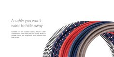 A cable you won't want to hide away