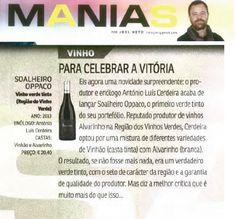 Para celebrar a vitória… Soalheiro Oppaco To celebrate the victory… Soalheiro Oppaco #Soalheiro #Alvarinho #Albarino