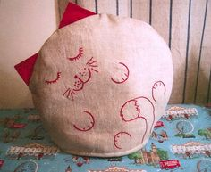 tea cosy sewing pattern | Sleepy Cat Tea Cosy - Needlecraft